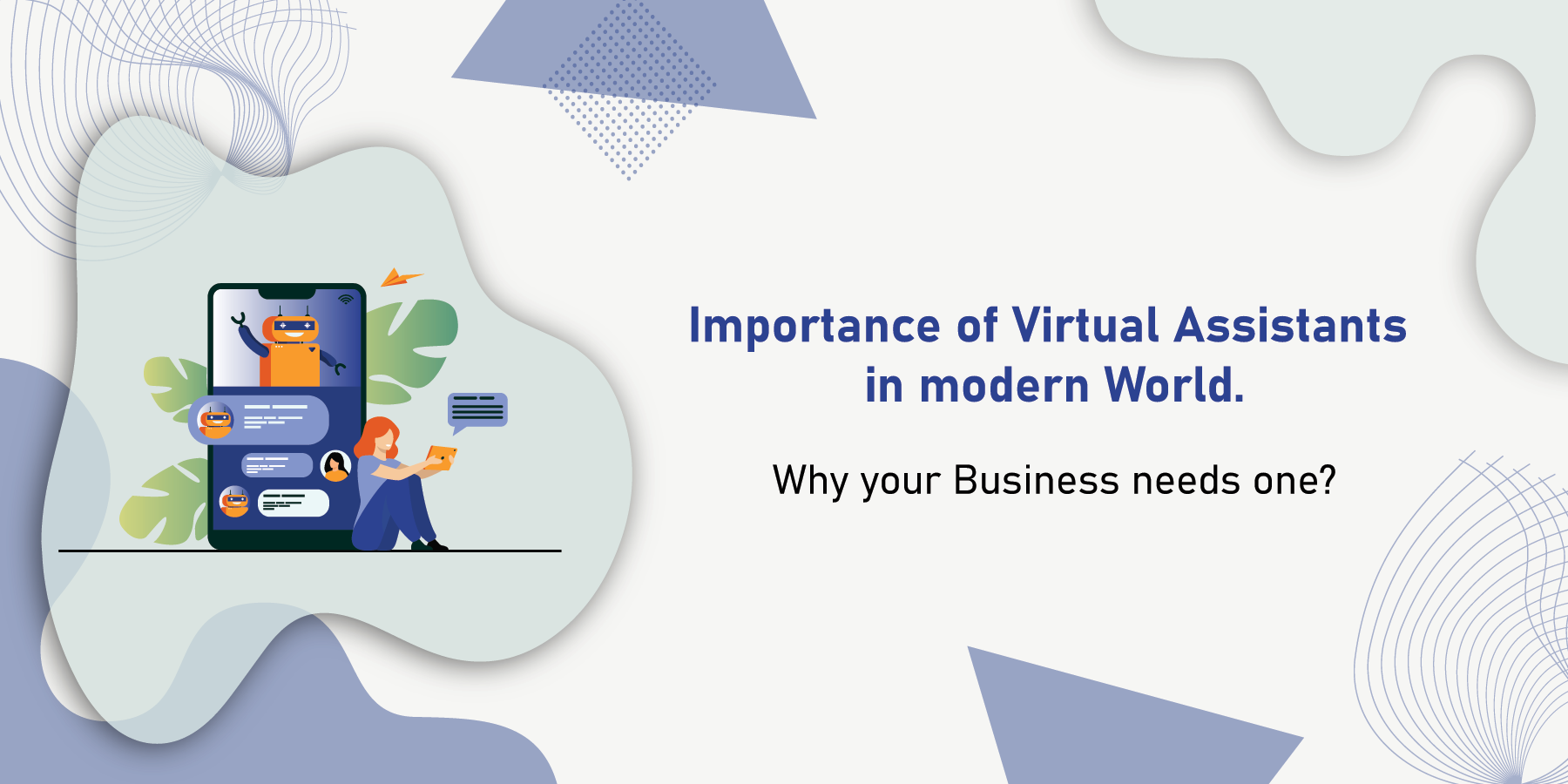 Importance of Virtual Assistants blog banner